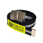 LILWHITEDOT - REFLECTOR LONG BELT (BK) -