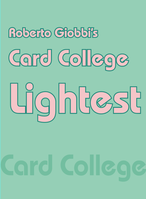 Roberto Giobbi『Card College Lightest』