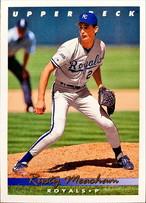 MLBカード 93UPPERDECK Rusty Meacham  #059 ROYALS