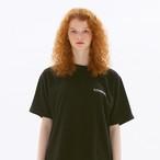 「PCC」ボックス Tシャツ ブラック