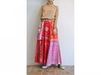 【RehersalL】bandanna flare skirt(red D) /【リハーズオール】バンダナフレアスカート(レッドD)