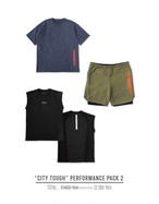"""CITY TOUGH"" PERFORMANCE PACK3"
