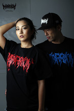 "Killer ""MARRION"" Logo Tee (黒×黒、青、赤、金、白)"