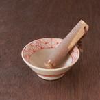 ちょっとした薬味作りにオススメ!ミニすり鉢15選「ミニすり鉢(すりこぎ付)」№07