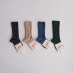 Condor Rib High Socks(全4色/0(9.5-11.5cm),2(11.5-13.5cm))