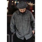 【再入荷】ROLL UP BAMBOO LINEN SHIRT