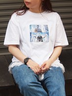 ROBOT print T-shirt
