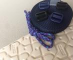 ワラーチキット(トレラン用)【紺ブレ】