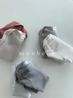 monbebe / ワッフルスーツ2枚セット