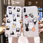 iphoneケース ペア スマホケース 韓国 iphone11 ケース キャラクター