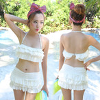 Womens Swimwear Sexy High Waist Bikinis Set Skirt Swimsuit 2 Piece Set for Women 294