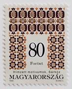 刺繍 80F / ハンガリー 1996