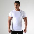 GymShark ジムシャーク フォームフィットTシャツ – ホワイト【White】 メーカー直輸入品!