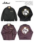 "【受注商品】COACH JACKET with BORE / ""For you, For me, and For us"""