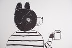 yamyam / yamyamKIKAKU COFFEE BEAR POSTER「 BOOK 」