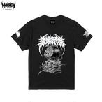 【Cotton100%】Brutal Nao Masaki Tee (Black×White Logo)