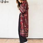 Chiffon Kimono Long Cardigan G《WINE》19383084-g