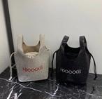グリッターロゴハンドバッグ 韓国ファッション