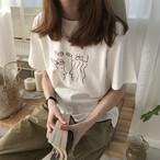 ゆるイラストT-シャツ