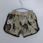michirico 21SS Flora and fauna short pants (L/XL)[MR21SS-09]※メール便1点までOK