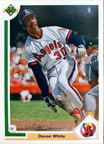 MLBカード 91UPPERDECK Devon White #517 ANGELS