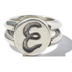 [予約商品]EFFECTEN(エフェクテン) plate ring'E'