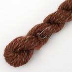 コリデールツイード 茶系no1 オーダー用糸サンプル ( twe3) 手紡ぎ毛糸オーダー(送料込)