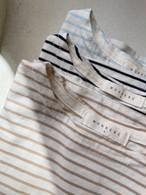 【予約販売】border T-shirt〈monbebe〉
