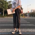 ウィンドウ・ペン パンツ 秋冬商品 カジュアルパンツ【0353】