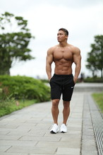 ONE-X ALL DAY SWEAT SHORTS BLACK
