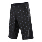 Troy Lee Designs RUCKUS STAR SHORTS 2018 BLACK / GRAY