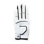 【Men's】 Athlete Glove white-black