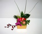 花いずもの和飾り (アーティフィシャルフラワー:花いずもの壽花) 「The enmusubi」