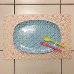 rice/ メラミンプレート oval   〇〇パンとおかずが乗るお皿〇〇