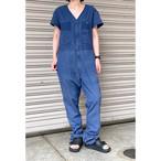 【sandglass】custom jumpsuit(navy) / 【サンドグラス】カスタム ジャンプスーツ(ネービー)