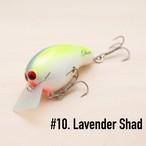 BRISKY LURES / Oliver / #10. Lavender Shad