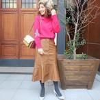 エコレザースカート(ブラウン)