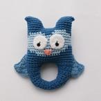 sebra ガラガラ owl  ○○北欧の美しい色と形○○