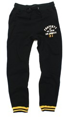 STENCIL PRINT SWEAT PANTS
