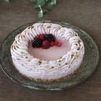 (15cm)ビーガンローストロベリーケーキ※卵・乳製品・小麦・白砂糖不使用 ヴィーガン&グルテンフリー