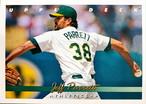 MLBカード 93UPPERDECK Jeff Parrett #311 ATHLETICS
