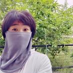 夏に向けてのフェイスマスク~シルク100%でリニューアルで登場しました