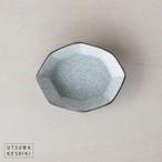 [谷井 直人]白×黒 八角小鉢