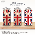 iPhone7 ユニオンジャックスマホカバー MINI on Jack-1