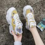 【shoes】履き心地抜群合わせやすい配色スニーカー 22582654