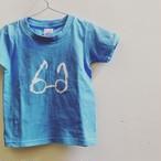 BAGLE めがねTシャツ(Blue)