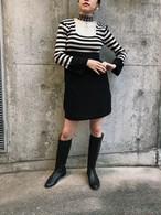 60s border knit dress (ヴィンテージ ボーダー ニット ワンピース)