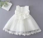 【即納/送料無料】再入荷  大人気 リボン付き チュールスカート ふんわりドレス