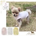 8。Petit Bijou【正規輸入】犬 服 Tシャツ シンプル 春 夏物 ダックス