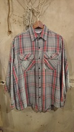 70s  FROSTPROOF HEAVY FLANNEL SHIRT
